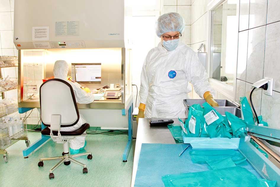 Laboratorium wytwarzania cytostatyków - zdjęcie 2.