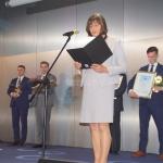 Marzena Pyk – zastępca dyrektora ŚCO  ds. pielęgniarstwa odczytała list doktor Agnieszki Wrony – Cyranowskiej, która nie mogła odebrać nagrody Ginekologa Roku 2018 osobiście, ponieważ prowadziła w ŚCO warsztaty laparoskopii dla lekarzy ginekologów z całej Polski