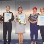 Pani dyrektor Marzena Pyk z II nagrodą dla Świętokrzyskiego Centrum Onkologii w kategorii Szpital Roku 2018