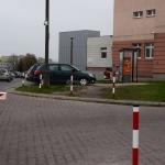 Kasa parkingowa nr 1. (przy wjeździe głównym od ul. Artwińskiego)