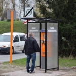 Kasa parkingowa nr 3. (przy wjeździe od ul. Kamińskiego - od strony DPS)