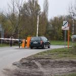 Wjazd z terenu parkingo przy ŚCO po okazaniu dowodu zapłaty