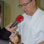 dr Marcin Misiek – kierownik Kliniki Ginekologii ŚCO
