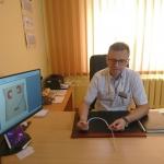 Dr Jarosław Jaskulski, kierownik Kliniki Urologii ŚCO wyjaśnia, na czym polega działanie sztucznego moczowodu