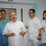 Doktor Agnieszka Wrona – Cyranowska podczas warsztatów laparoskopii ginekologicznej w ŚCO