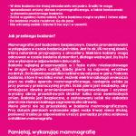 Ulotka - Projekt Żyj zdrowo - 2 strona